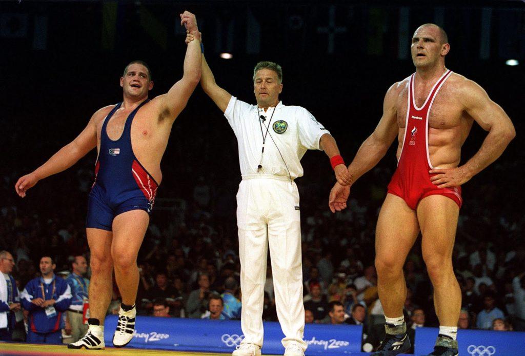 Александр Карелин проиграл финальную схватку на Олимпиаде-2000