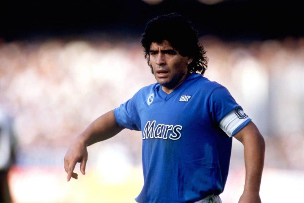Диего Марадона - лидер и капитан «Наполи»