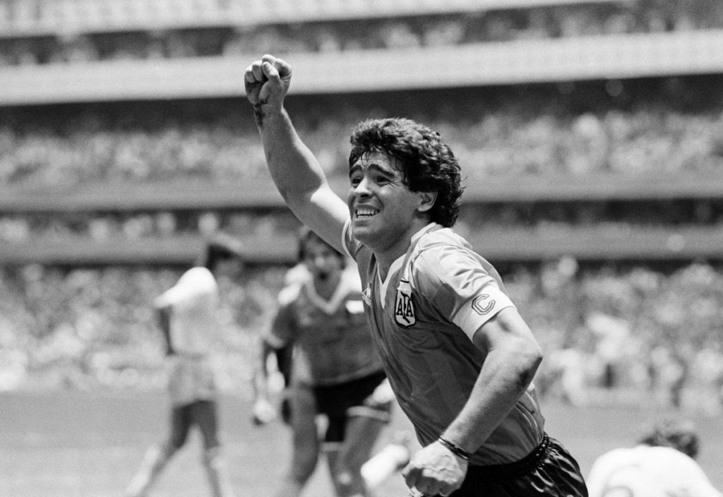 Диего Марадона ведет сборную Аргентины к победе на чемпионате мира-1986