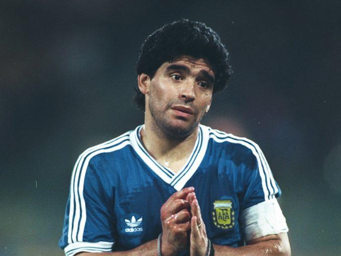 Диего Марадона - аргентинский гений футбола