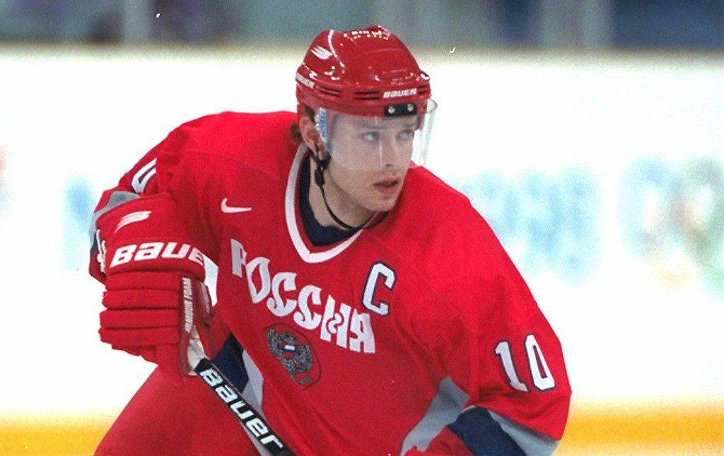 Павел Буре - капитан сборной России по хоккею