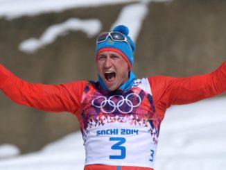 Александр Легков - олимпийский чемпион Сочи-2014