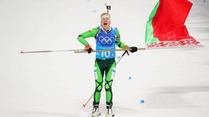 Дарья Домрачева - четырехкратная олимпийская чемпионка