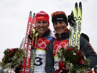 Кати Вильхельм и Уши Дизль - многократные призеры Олимпийских игр