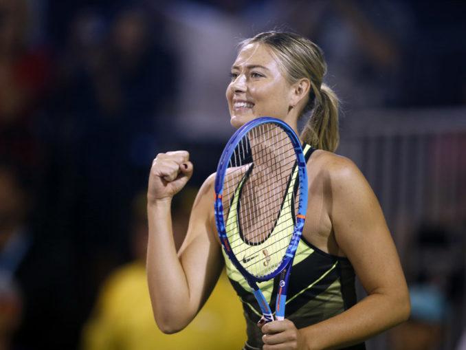 Мария Шарапова - звездная российская теннисистка
