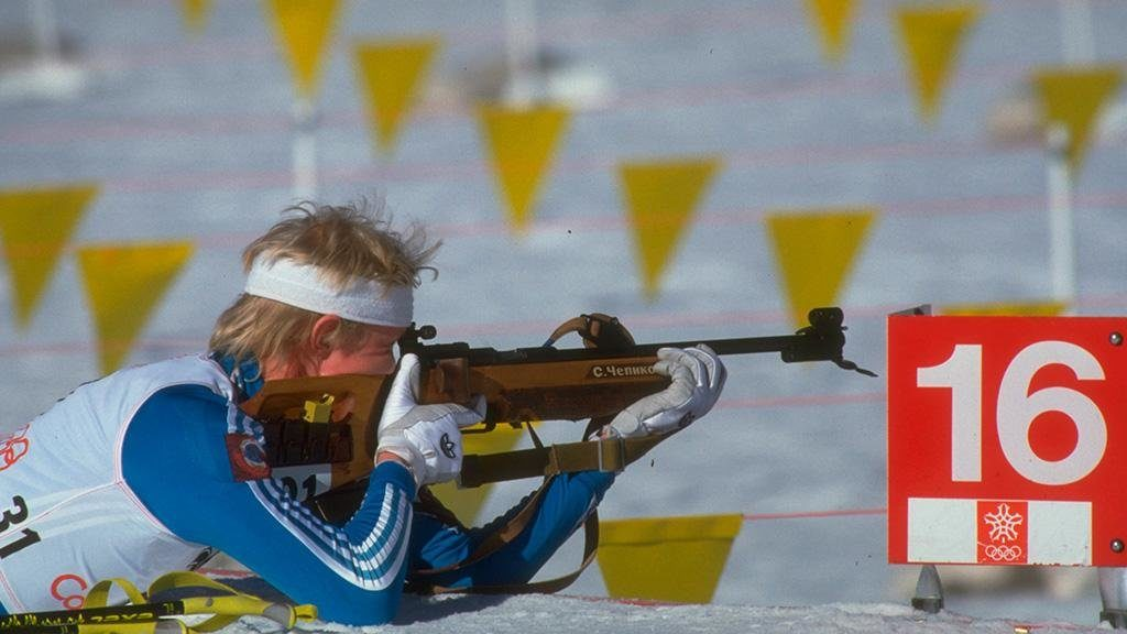 Молодой Сергей Чепиков на Олимпийских играх-1988