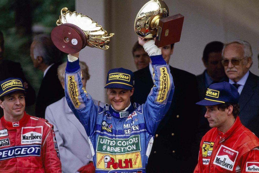 Молодой пилот Benetton Михаэль Шумахер (1994)
