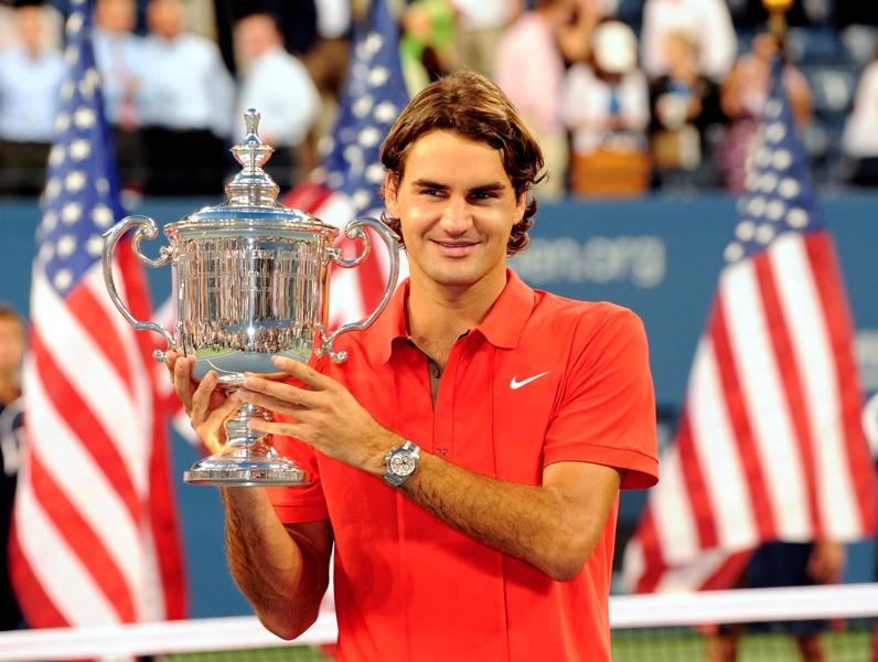 Роджер Федерер - пятикратный чемпион US Open