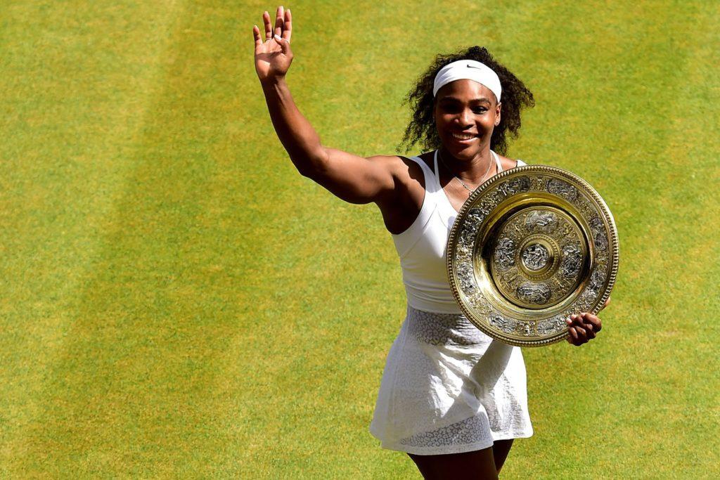 Серена Уильямс в очередной раз выигрывает Уимблдонский турнир