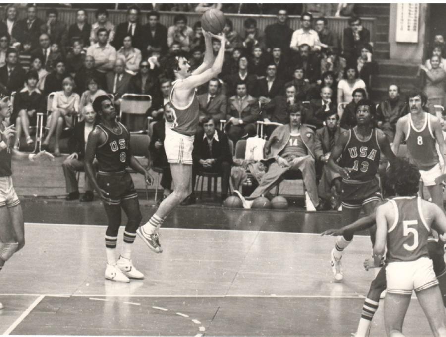 Сергей Белов в финальном матче Олимпиады-1972