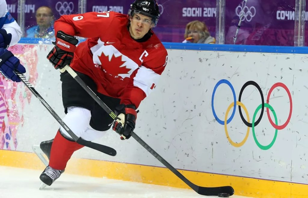 Сидни Кросби на Олимпийских играх-2014