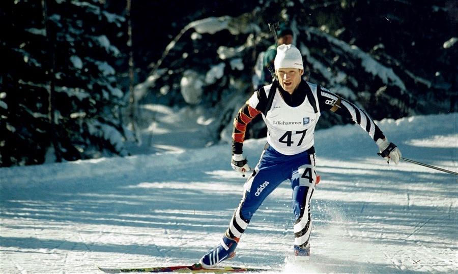 Владимир Драчев на Олимпийских играх в Лиллехаммере (1994)