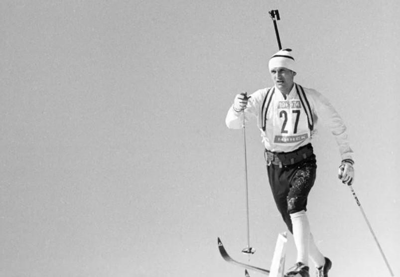 Александр Тихонов на чемпионате мира-1974