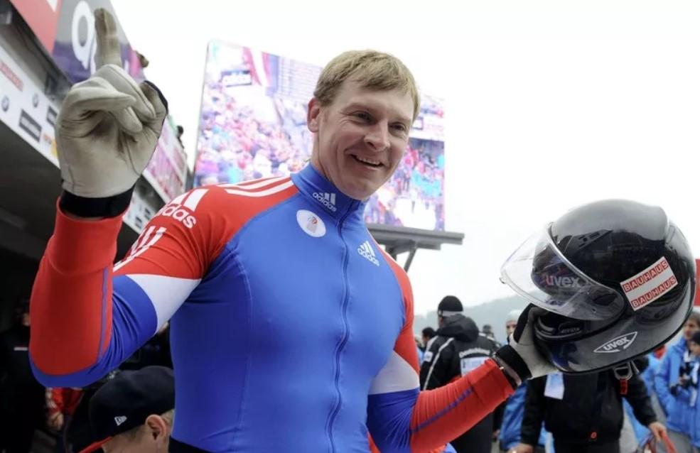 Александр Зубков после финиша