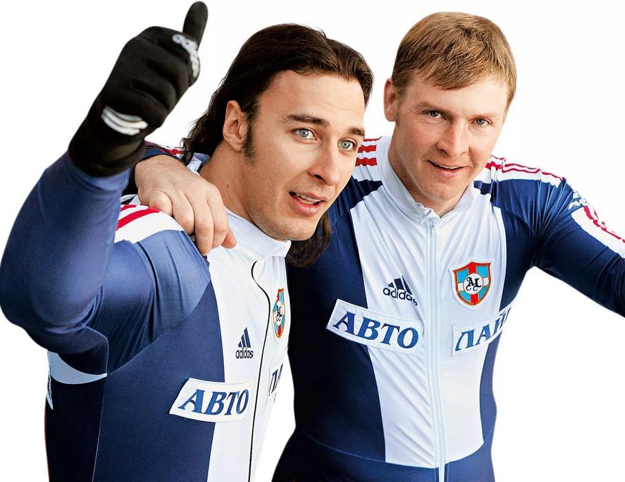 Александр Зубков со своим многолетним партнером Алексеем Воеводой