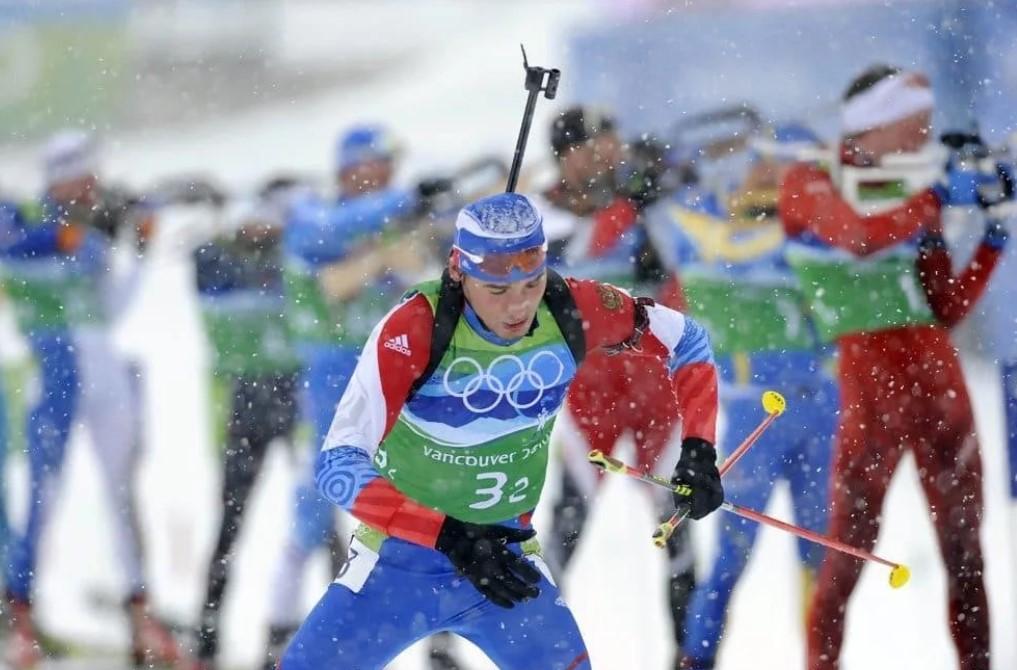 Антон Шипулин на Олимпийских играх-2010