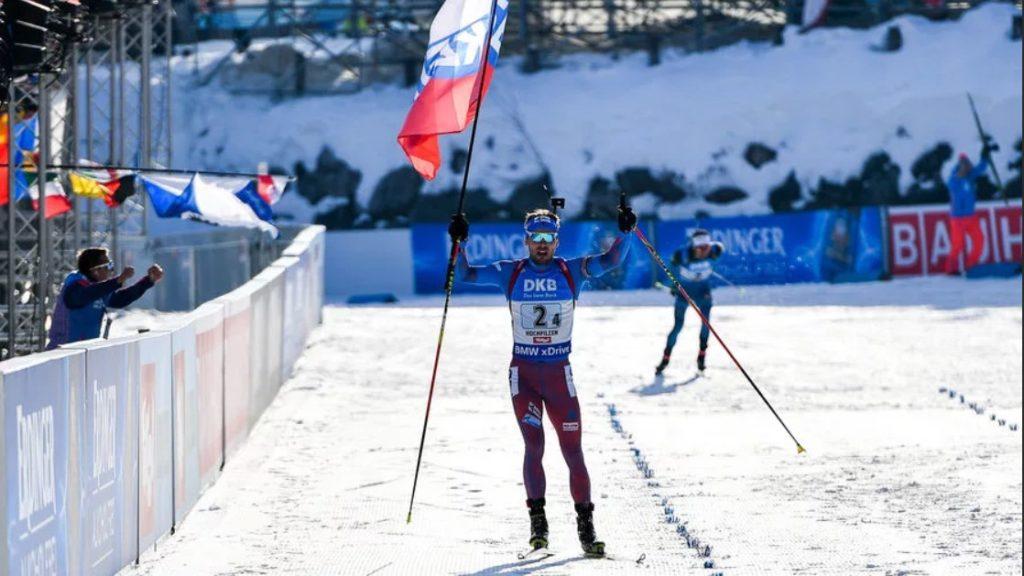 Антон Шипулин приносит сборной России победу в эстафете на ЧМ-2017