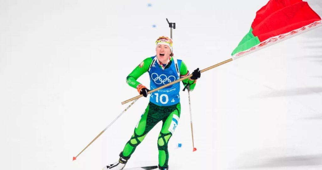Дарья Домрачева - олимпийская чемпионка 2018 года в эстафете