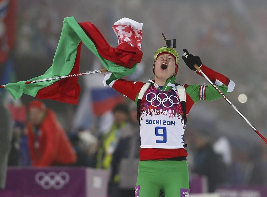 Дарья Домрачева - трехкратная чемпионка Олимпийских игр-2014 в Сочи
