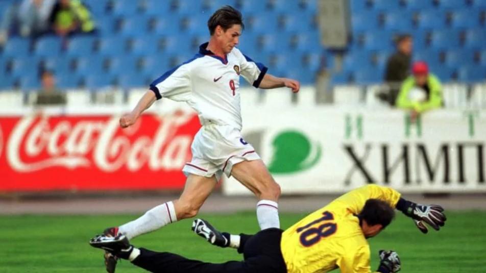 Егор Титов в составе сборной России