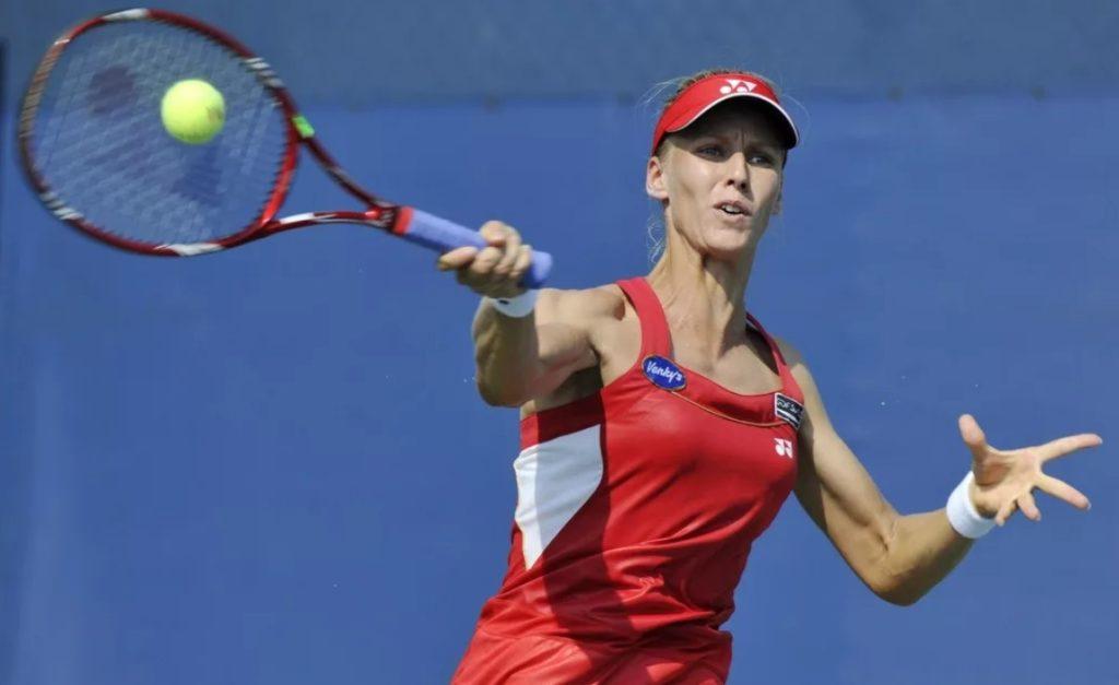 Елена Дементьева на US Open-2010
