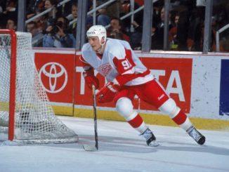 Форвард «Детройт Ред Уингз» Сергей Федоров - один из сильнейших хоккеистов НХЛ 90-х годов
