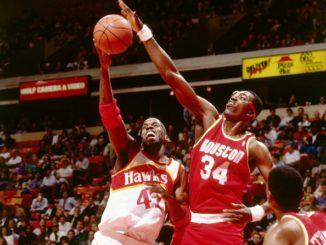 Хаким Оладжьювон - лидер НБА по блок-шотам за всю историю
