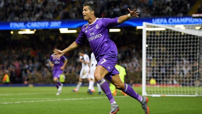 Криштиану Роналду - лучший бомбардир Лиги чемпионов за всю историю