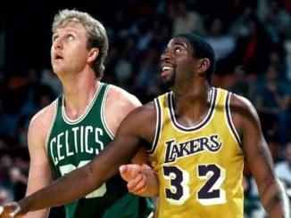 Ларри Берд и Мэджик Джонсон - трехкратные MVP НБА