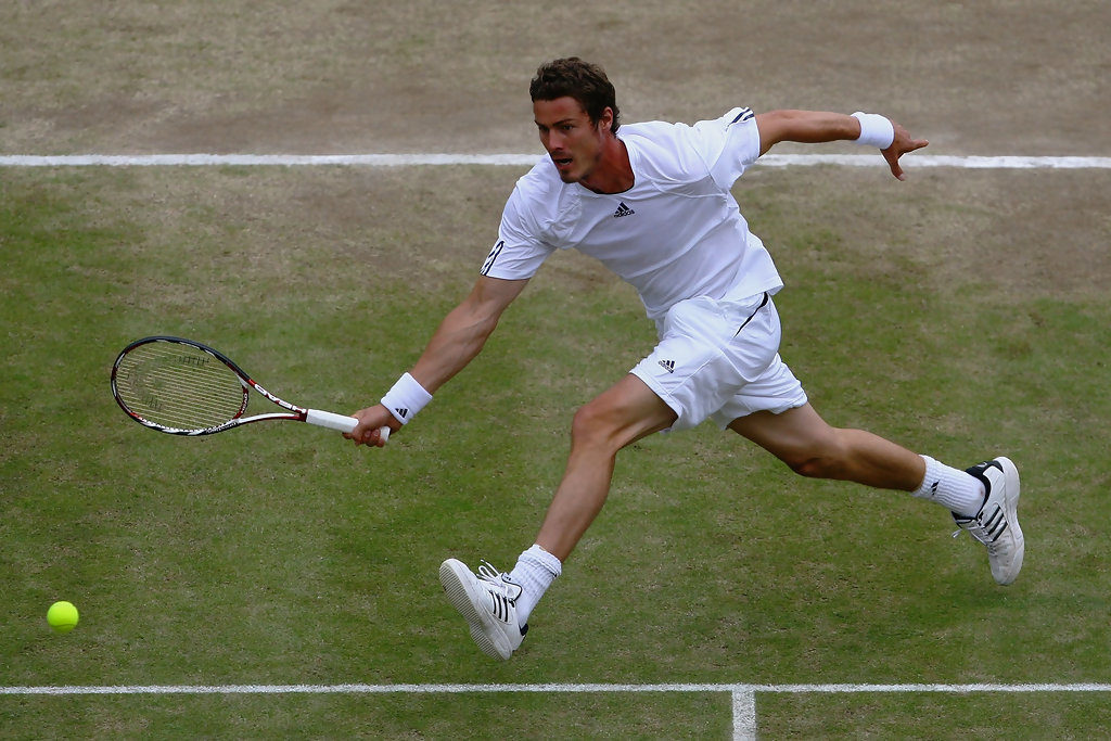 Марат Сафин на Уимблдонском турнире (2008)