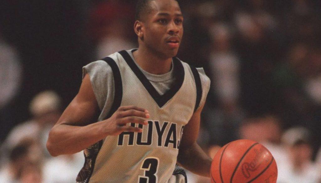Молодой Аллен Айверсон в NCAA