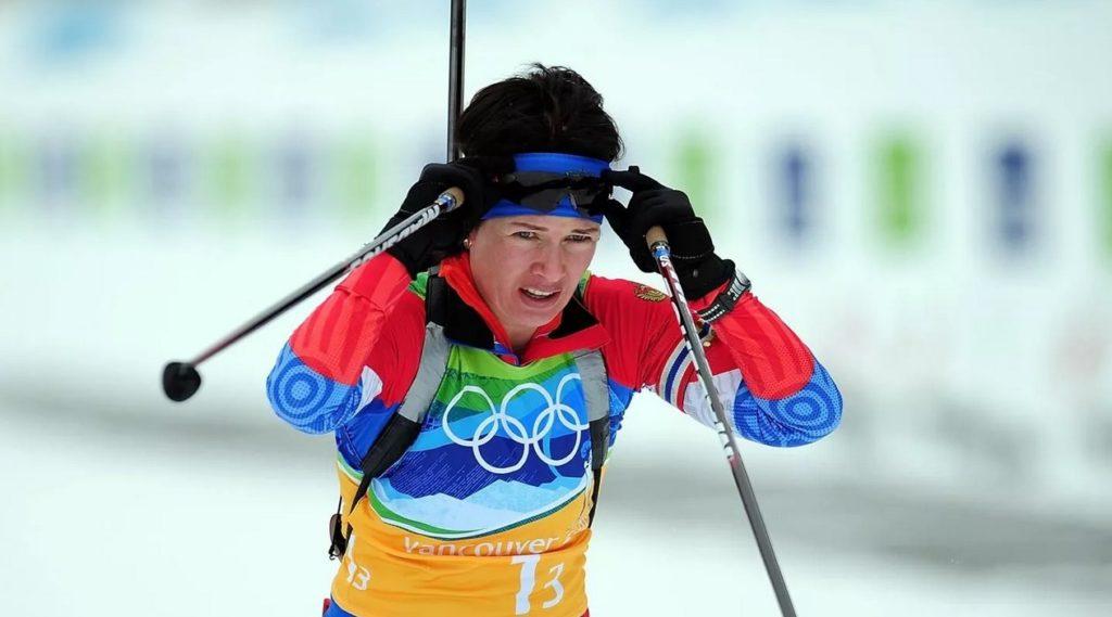 Ольга Медведцева на Олимпийских играх-2010