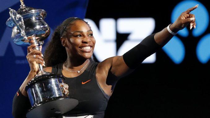 Серена Уильямс - семикратная победительница Australian Open
