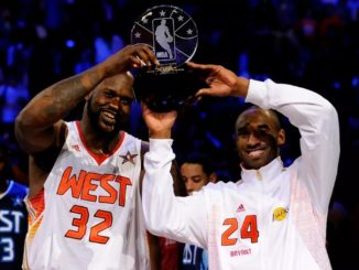 Шакил О'Нил и Коби Брайант - MVP Матча всех звезд НБА-2009