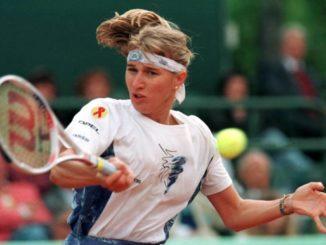 Штеффи Граф - одна из сильнейших теннисисток в истории