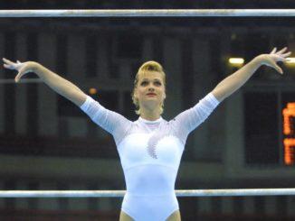 Светлана Хоркина - прославленная российская гимнастка