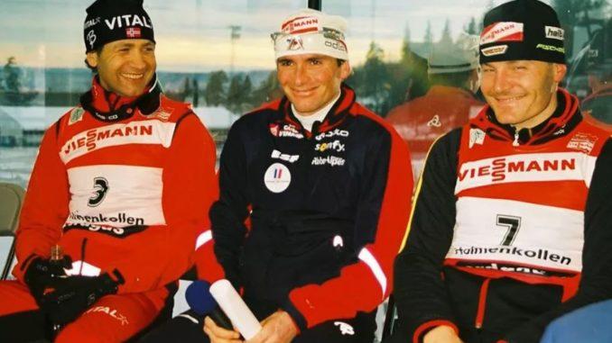 Уле Эйнар Бьорндален, Рафаэль Пуаре и Свен Фишер - многократные призеры чемпионатов мира