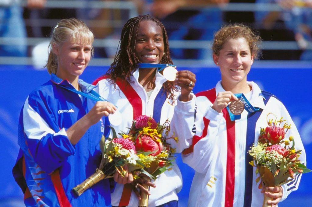 Винус Уильямс - олимпийская чемпионка 2000 года