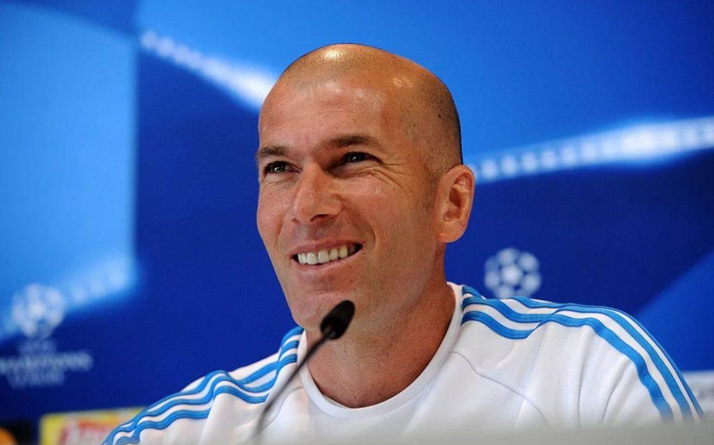 Зинедин Зидан - главный тренер «Реала»