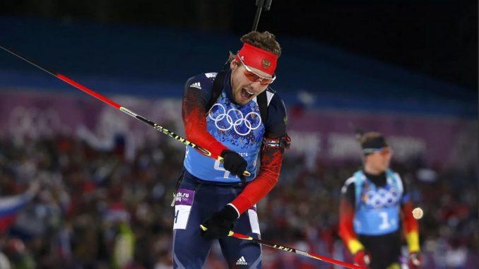 Золотой олимпийский финиш Антона Шипулина в Сочи-2014