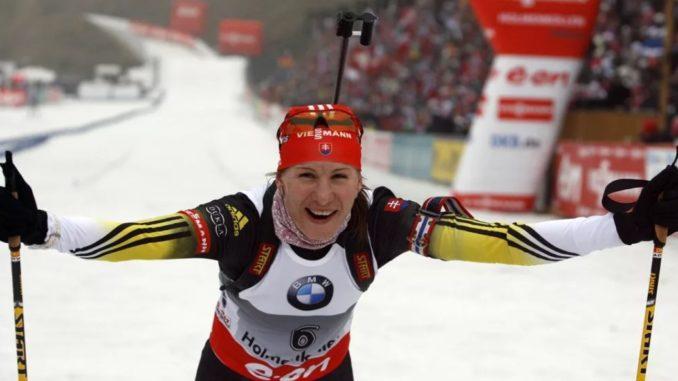 Анастасия Кузьмина - прославленная биатлонистка современности