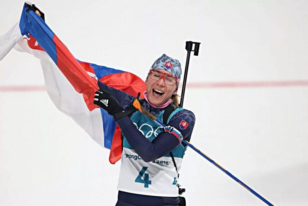 Анастасия Кузьмина становится трехкратной олимпийской чемпионкой (Пхенчхан-2018)