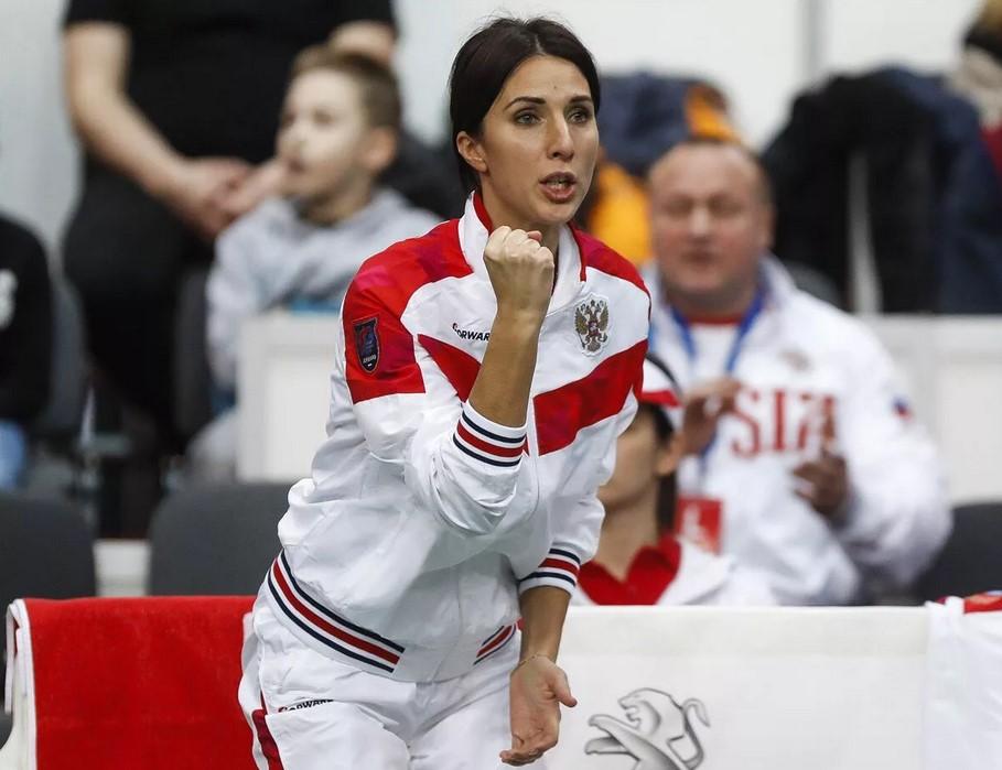 Анастасия Мыскина - капитан женской сборной России по теннису