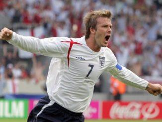 Дэвид Бекхэм - капитан и многолетний лидер сборной Англии