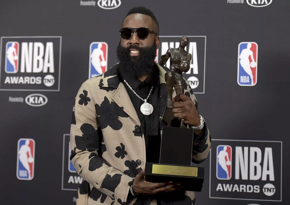 Джеймс Харден - MVP регулярного чемпионата НБА 2018 года