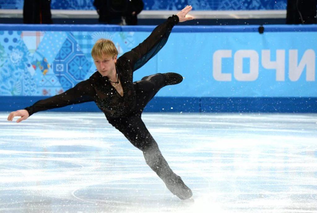 Евгений Плющенко на Олимпийских играх 2014 года в Сочи
