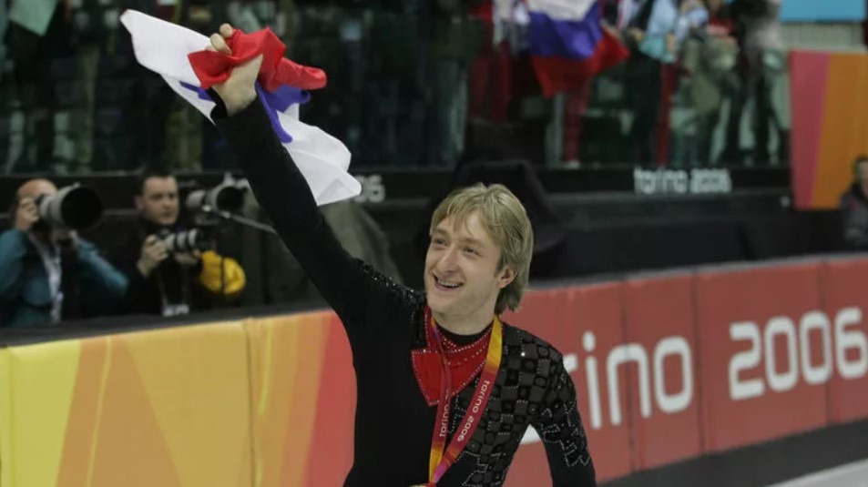 Евгений Плющенко - олимпийский чемпион Турина-2006