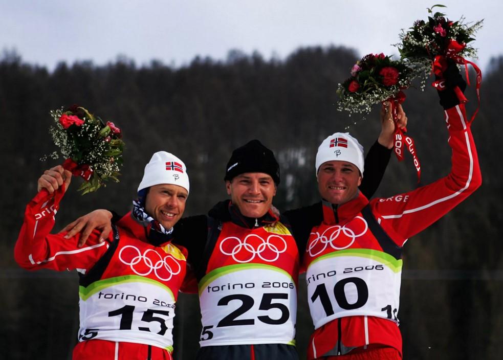 Фруде Андресен - бронзовый призер Олимпийских игр 2006 года в спринте