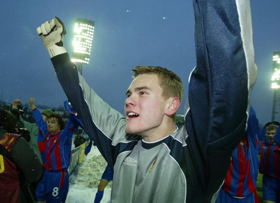 Игорь Акинфеев в молодости (2003)