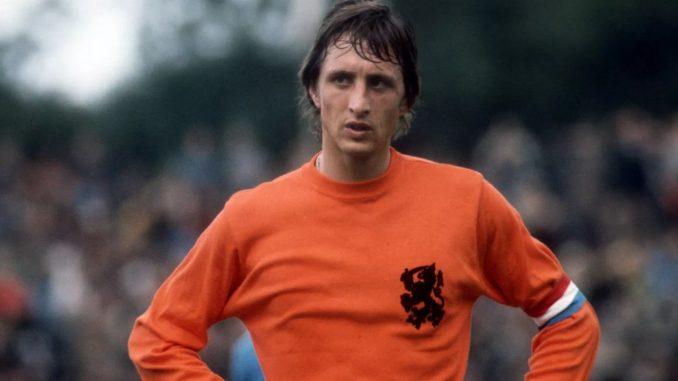 Йохан Кройф - лучший футболист в истории Голландии